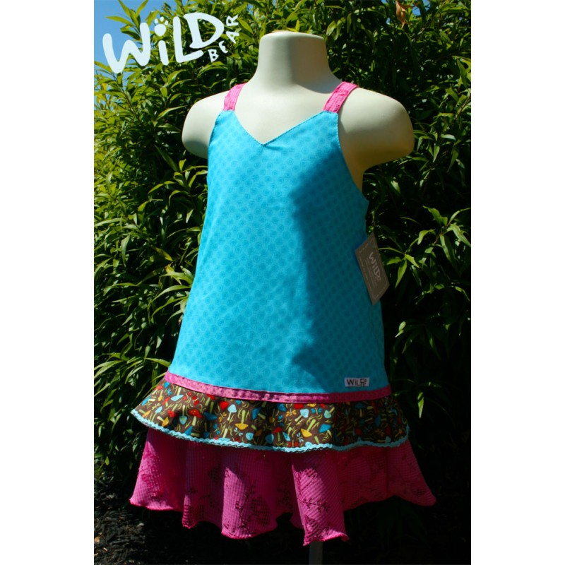 Lily Ra Ra Dress - Wild Bear Children's Wear